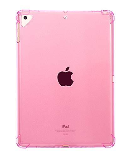 シーユーエル タブレットケース 透明 アップルペンシル アイパッドカバー スタンド iPadケース ipd3 F:iPadmini(第5世代)7.9インチピンク