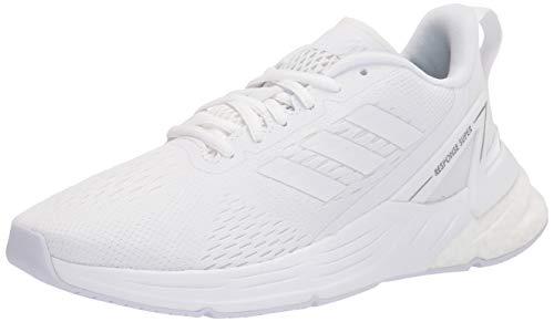 adidas mens Response Super Running Shoe, White/White, 11.5 US