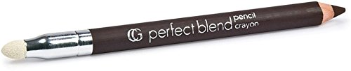 CoverGirl Perfect Blend Eye Pencil, Black Brown [110] 0.03 oz (Pack of 4)