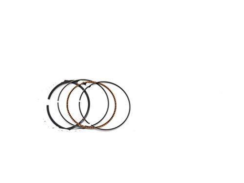 HOWWO KF-Ring 4pcs Partes de Motos STD Diámetro 49 mm Segmentos de pistones Ajuste for Kawasaki ZR250 BALIUS 250 1989-96