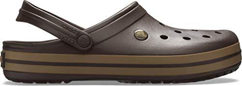 Crocs Unisex-Erwachsene Crocband Clogs, Braun - 9