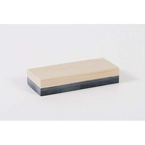 L'arigeoise, pietra affilatrice naturale Belga coticola 206/125 x 40 mm, fabbricazione artigianale, pietra per affilare ad acqua, grana 8000
