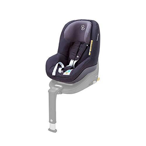 Maxi-Cosi Pearl Smart Kindersitz - rückwärts & vorwärtsgerichtetes Fahren möglich, für ISOFIX-Basis FamilyFix One i-Size, Gruppe 1 (9-18 kg) nutzbar ab 6 Monate - 4 Jahre, Black Diamond (schwarz)