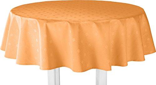 Erwin Müller Tischdecke Duisburg orange Größe 110x140 cm