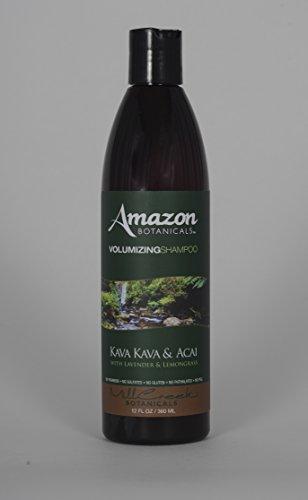 Amazon Organics, Shampooing volumisant, au kava et à la citronnelle, de la lavande, 12 fl oz (360 ml)