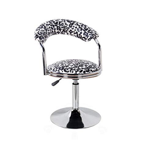 HYLH Barhocker Home Barhocker, Barhocker Moderne Einfache Haushalt Drehlift Rückenlehne Stuhl Barhocker Höhenverstellbar Mit Armlehnen Hocker (Farbe: # 5)