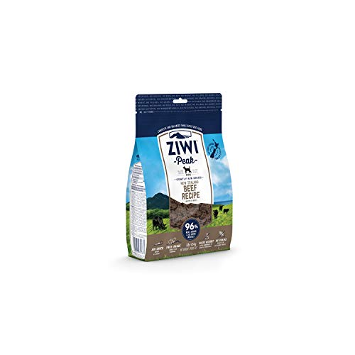 ZIWI Peak Air-Dried Dog Food – All Natural, High Protein, Grain Free & Limited Ingredient with Superfoods (Beef, 1.0 lb)