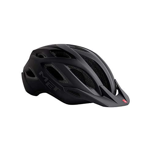 MET Crossover Fahrradhelm, Shaded Black, M