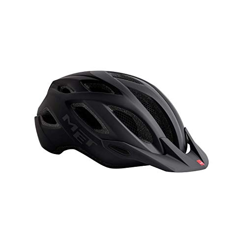 MET Crossover Fahrradhelm, Shaded Black, M