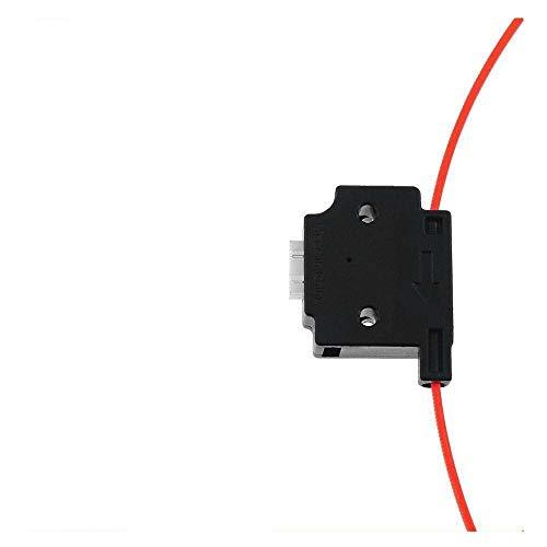 XBaofu Impresora Material del módulo del Sensor de detección de Rotura de filamento Impresora 1pc 3D con 1m Cable descentramiento descentramiento Detector for Ender 3 CR10 3D (Color : Negro)