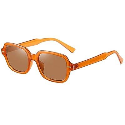 YOURSN Kleine Quadratische Sonnenbrille