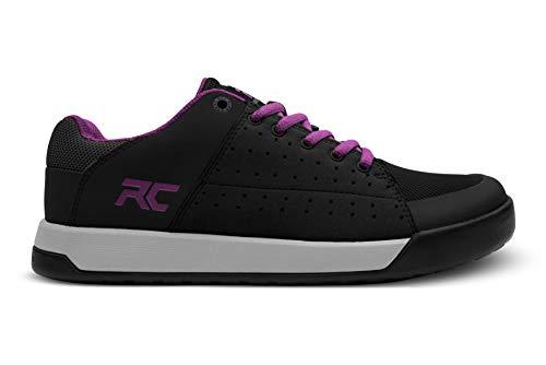 Ride Concepts Women's Livewire Flat Pedal Mountain Bike Shoe Black/Purple 9.5 M US