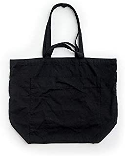 BAGGU Giant Pocket Tote, Oversized Stylish Canvas Bag For Easy Carrying