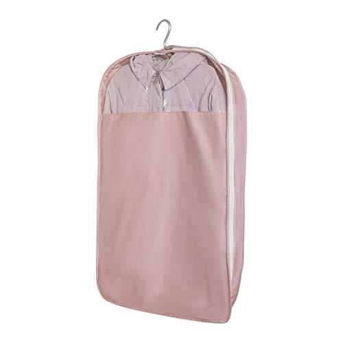 YPSOU Clothes Covers,Garment Bag with Transparent Window, Widened Suit Bag for Suit, Coats, Dress Closet Storage(Size:150×60cm,Color:B)