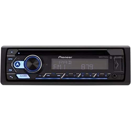 Pioneer DEH-S5200BT Single-Din in-Dash CD Player with Bluetooth