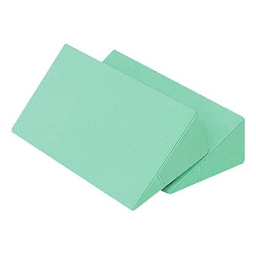 体位変換クッション 2個セット 日本製 綿100% 洗濯可能 床ずれ防止クッション 三角クッション 床ずれ クッション 体位変換 クッション 枕 体位変換枕 三角まくら 床ずれ予防 リハビリ 介護用クッション 7-TB-77-69-F (グリーン)