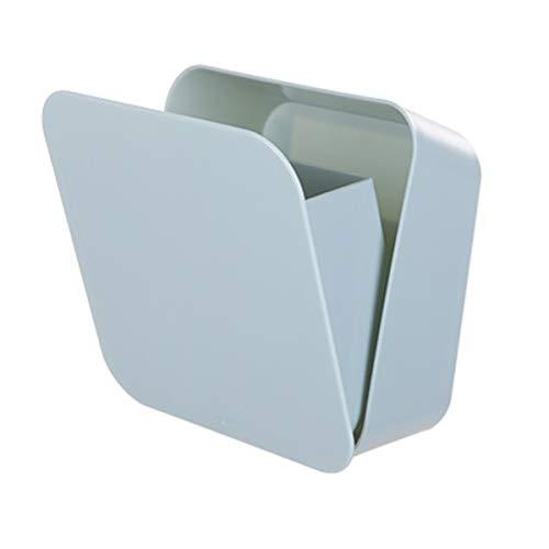XingYue Direct Abnehmbare Bad Houshold Box Hoch versiegelte, Wasserdichte, staubdichte Tasche für Zahnbürste, Stift, Brille, Telefon, Gabel, etc (Color : Blau, Size : 14X14X6cm)