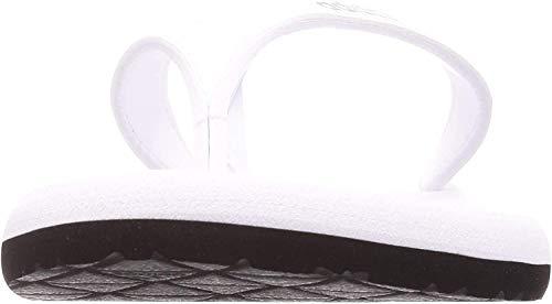 adidas Eezay Flip Flop, Damen Flip-Flop, Weiß (Ftwr White/Core Black/Core Black), 38 EU