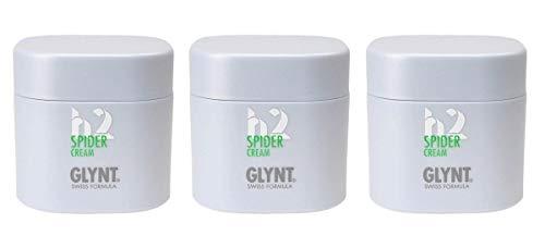 Glynt, Spider Cream 75ml Stück, grün beige, 225 milliliter, (Pack of 3)