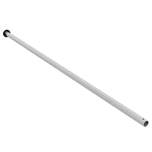 Ampel 24 Trampolin Netzstange Oben, Pfosten Länge ca. 125 cm, Ø Stange ca. 2,8 cm, Netzpfosten Silber, Ersatzteil für Gartentrampolin Ø 305 cm