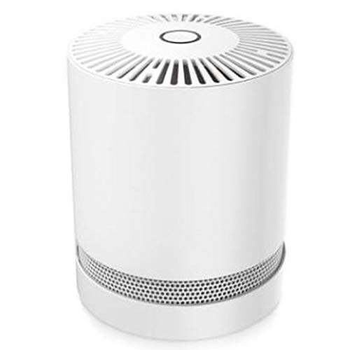 Best Deals! Cliiinerrti Mini Air Purifier Household Air Purifier, Filter Second-Hand Smoke and Pet O...