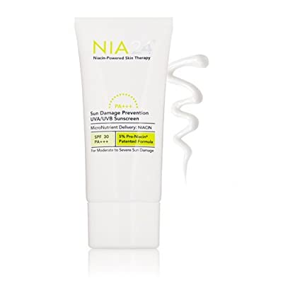 Nia 24 Sun Damage Prevention Broad Spectrum SPF 30 UVA/UVB Sunscreen, 2.5 fl. oz.