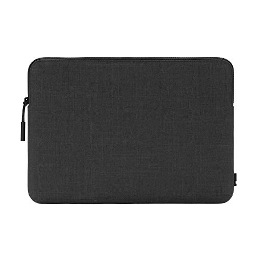 Incase Slim Sleeve INMB100604-GFT - Funda para Apple MacBook Pro de 12' (Material Woolenex, 3 mm de Grosor, Interior de Piel sintética, Cremallera, Color Gris Oscuro