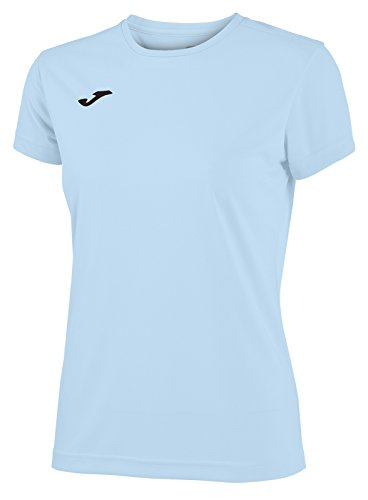 Joma 900248.350 - Camiseta para Mujer, Color Azul Celeste, Talla M