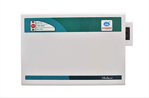 Everest 3 KVA Deluxe Voltage Stabilizer Used Upto 1 ton AC (Working Range : 170 V to 270 V) White