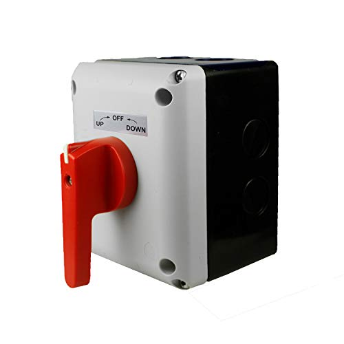 ASI Boat Lift Switch, Single Phase, Momentary (Spring Return) - for 1HP to 2HP Electric Motors. P0202500S-RH-EKIT