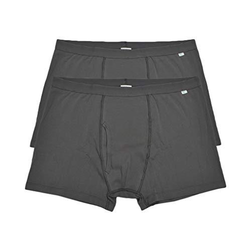 Bonarty Inkontinenz Unterwäsche Männer Waschbare Unterhosen Inkontinenzhose Boxershorts - wie Beschreibung, 2Pcs