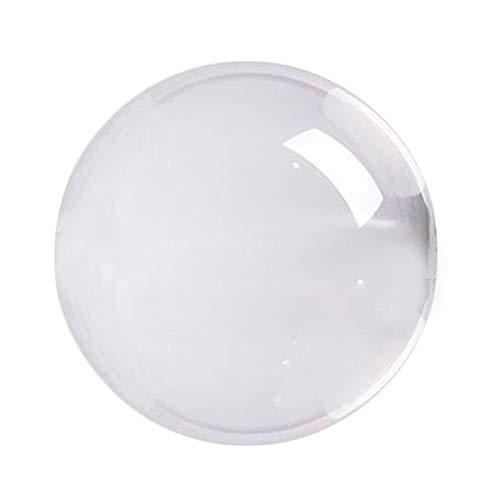TTBD Transparente Bola de Cristal de Cristal Esfera de Sanación Esfera Curativa...