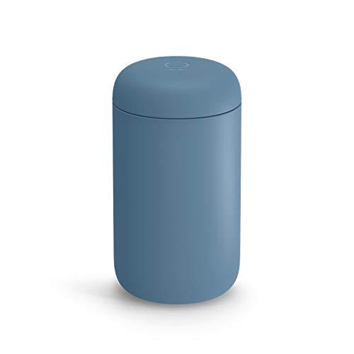 Fellow Carter Everywhere Mug, Vacuum Insulated w/True Taste Ceramic Coating (Dusk Blue, 16oz)