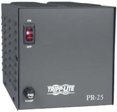 Tripp Lite PR25 DC Power Supply 25A 120V AC Input to 13.8V DC Output TAA GSA