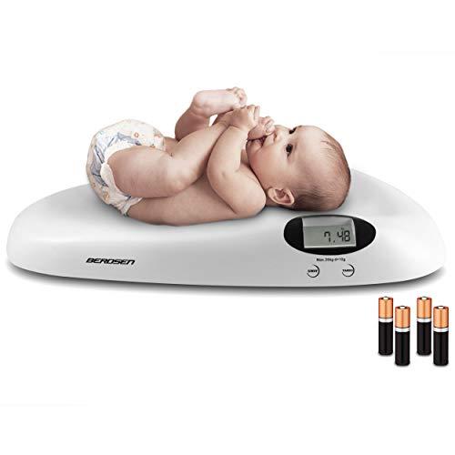 Baby Waage Digital 20kg Säuglinge Neugeborene Kinderwaage Tierwaage Ricokids