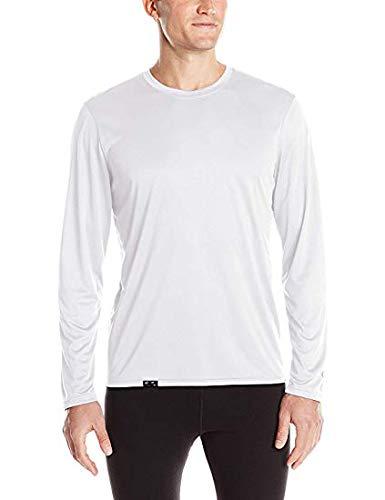 KIT 2 Camisetas Proteção Solar Permanente UV50+ Tecido Gelado – Slim Fitness – M Branca