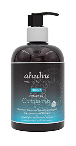 ahuhu SHINE Hyaluron Conditioner 500ml mit Hyaluron & Hibiskus Extrakt