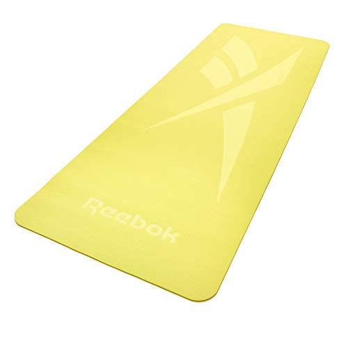 Reebok Esterilla de Yoga-5mm-Verde, Unisex-Adult, Verde