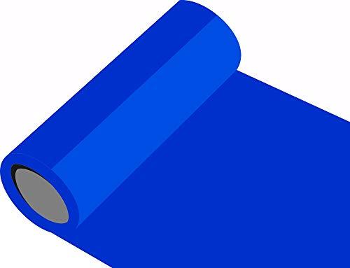 Oracal 631 Orafol matt - für Küchenschränke - Dekoration / Autobeschriftung / Schutzfolie Folie 10m - Breite 100 cm - Farbe 57 - verkehrsblau - Markierungen, Beschriftungen und Dekorationen - Klebefolie