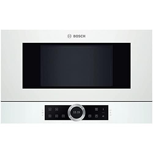 Micro ondes Encastrable Bosch BFL634GW1 - Micro-Ondes Intégrable Blanc - 21 litres - 900 W
