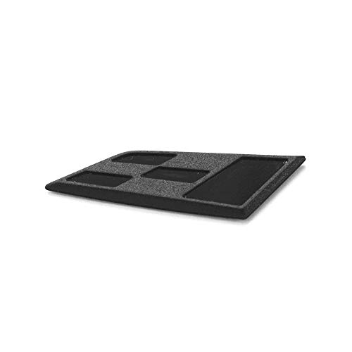 Emblema para volante de Seat 5F0087001 Cupra R, color negro