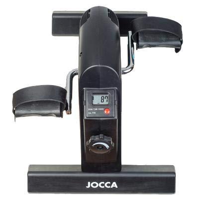 Jocca 6190 Pedaleador con Display con 5 Funciones, Negro