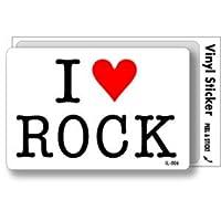 IL-006 I love ROCK アイラブステッカー