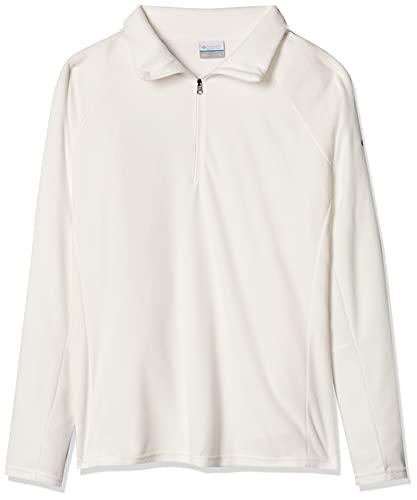Blusão Columbia Glacial Fleece IV 1/2 Zip Lady Cor:Sea Salt;Tamanho:GG
