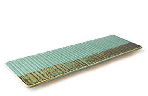 THE CHEF COLLECTION – Plato Rectangular Art 30, Colección Art, plato rectangular, porcelana colores, 30,7x10,0x1,5 cm