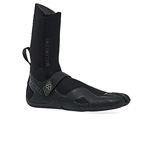 XCEL Infiniti - Botas de neopreno con puntera dividida, 3 mm, color negro