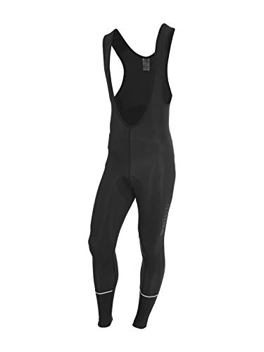 Spiuk Sportline Anatomic - Culotte Lunga, da Uomo, Nero/Bianco, L