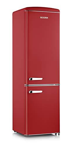 frigorifero rosso vintage Severin RKG 8920 frigorifero con congelatore Libera installazione Rosso 255 L A++