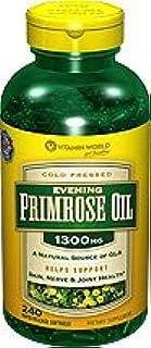 Vitamin World Evening Primrose Oil 1300 mg, 240 Rapid Release Softgels