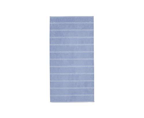 Calvin Klein Home Eileen Collection, Bath Towel, Periwinkle/White